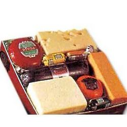Popular Cheese and Sausage Variety Gift Box