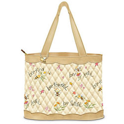Just Bee Artistic Tote Bag