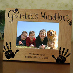 Grandma's Munchkins Frame