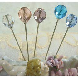 Pastel Crystal Hat Pin