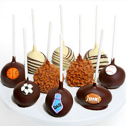 Father's Day Sport Themed Cake Pops