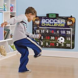 Electronic Soccer Challenge Game