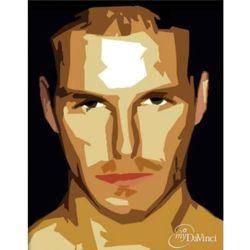 David Beckham Pop Art Print