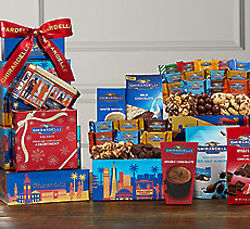 Ultimate Ghirardelli Chocolates and Treats Gift Tower