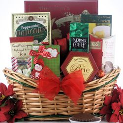 Tidings of Joy Small Christmas Gift Basket