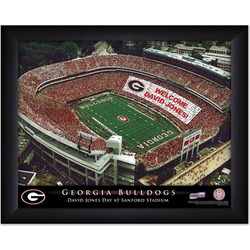 Personalized College Football Stadium Sign