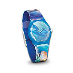 Treasures of the Sea Dolphin Art Watch