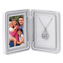 Family Medallion in Sterling Silver