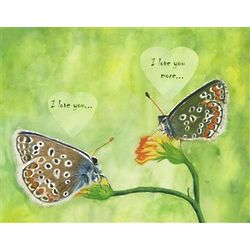 Talking Butterflies Personalized Print