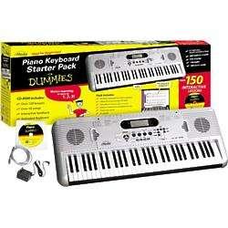 eMedia Piano for Dummies Keyboard Starter Pack