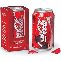 Coca Cola Can 3D Jigsaw Puzzle
