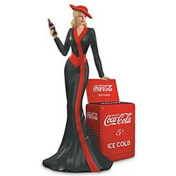 Coca-Cola Timeless Tradition Lady Figurine