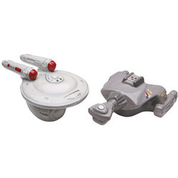 Star Trek Enterprise Salt and Pepper Set