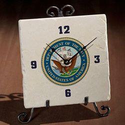 Military Seal Clock