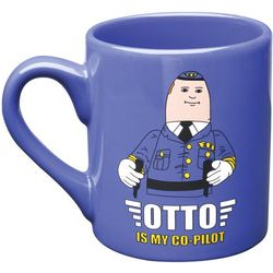 Otto is My Co-Pilot Airplane Mug