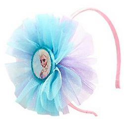 Girl's Elsa from Frozen Tulle Headband