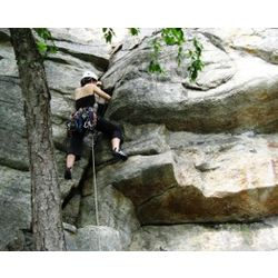Guided Rock Climbing in the Gunks, New York