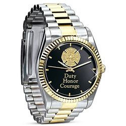 Stainless Steel Firefighter Watch