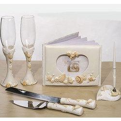 Beach Themed Bridal Accessories Set