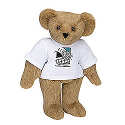 "15"" Rather Be Playing Volleyball T-Shirt Teddy Bear"