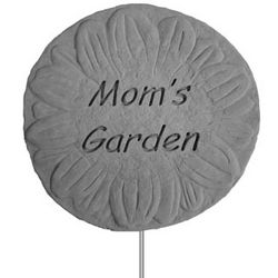 Mom's Garden Plaque