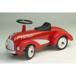 1st Birthday Red Speedster Freestyle Ride On Toy