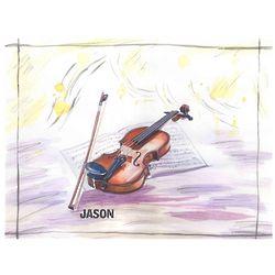 Violin Concerto Personalized Print