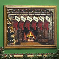 Christmas Stocking Canvas