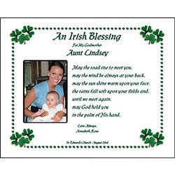 Godparent Irish Blessing Print