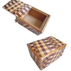 2.5 Sun 5 Steps Ichimatsu Japanese Puzzle Box