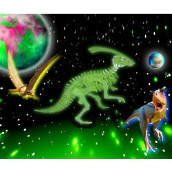 Glow in the Dark Dinosaur 3D Jigsaw Puzzle