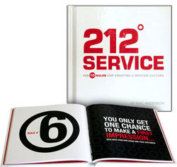 212 Degrees Service Book