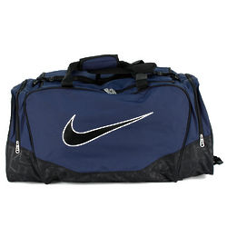 Large Midnight Navy Nike Duffel Bag