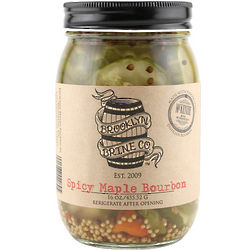 Brooklyn Brine Spicy Maple Bourbon Pickles