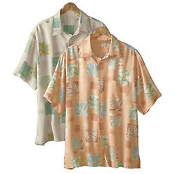 Men's Botanical Beach Shirt