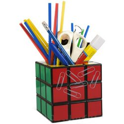 Rubik's Cube Magnetic Pencil Holder
