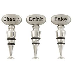 Cheers, Drink and Enjoy Wine Stoppers