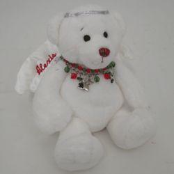 Personalized Angel Bear with Charm Bracelet