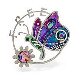 Freedom Butterfly Pin for the Newly Divorced Woman