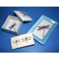 Blue Dragonfly Gift Set