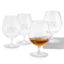 Engravable Brandy Glasses