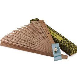 Chinese Sandalwood Ribbon Fan