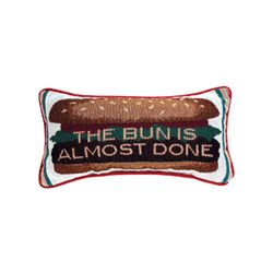 The Bun Is Almost Done Lumbar Pillow