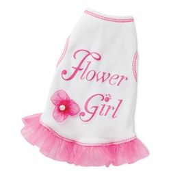 Doggie Flower Girl Dress
