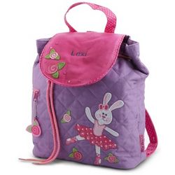 Personalized Ballet Bunny Backpack