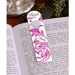Personalized Religious Bookmark