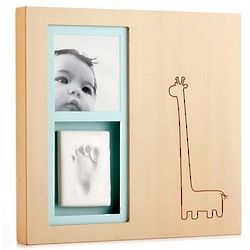 Newborn Faces and Footprints Frame