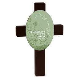 Spring Time Sympathy Cross
