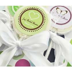 Personalized Bridal Shower Lollipop