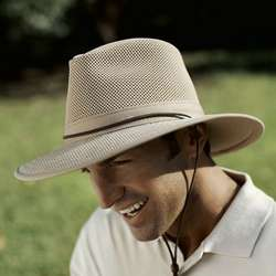 Ventilated Brimmed Hat